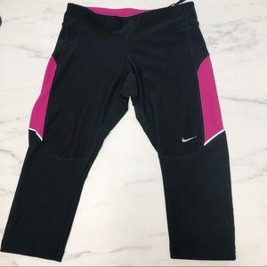 Nike Dri Fit Running Capris Size XS